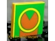 Part No: 3068bpb0046  Name: Tile 2 x 2 with Groove with Green and Brown Pattern