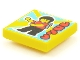 Part No: 3068bpb1557  Name: Tile 2 x 2 with Groove with BeatBit Album Cover - Minifigure with Backpack Dancing Pattern