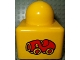 Part No: 31000pb14  Name: Primo Brick 1 x 1 with Red Roadster Car Pattern