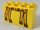 Part No: 31111pb046  Name: Duplo, Brick 2 x 4 x 2 with Giraffe Feet Pattern