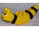 Part No: 31227pb01  Name: Duplo Butterfly Body with Face and Black Stripes Pattern