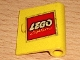 Part No: 3192pb02  Name: Door 1 x 3 x 3 Right with Lego Logo Open O Style Pattern (Sticker) - Set 685