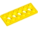 Part No: 32001  Name: Technic, Plate 2 x 6 with 5 Holes