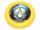 Part No: 32171pb025  Name: Throwbot Disk, Scuba / Sub, 2 pips, waterdrop logo Pattern