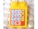 Part No: 3298pb012  Name: Slope 33 3 x 2 with Cash Register Pattern (Sticker) - Sets 3116 / 3118