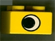 Part No: 3437pb016  Name: Duplo, Brick 2 x 2 with Eye without White Spot Pattern, on Two Sides