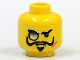 Part No: 3626bpx127  Name: Minifigure, Head Glasses with Monocle, Scar, and Goatee Pattern - Blocked Open Stud