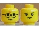 Part No: 3626bpx168  Name: Minifigure, Head Dual Sided HP Harry / Goyle Pattern - Blocked Open Stud