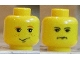 Part No: 3626bpx169  Name: Minifigure, Head Dual Sided HP Ron / Crabbe Pattern - Blocked Open Stud
