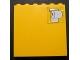 Part No: 3754pb23  Name: Brick 1 x 6 x 5 with Toilet Paper Pattern (Sticker) - Set 232