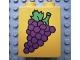 Part No: 4066pb059  Name: Duplo, Brick 1 x 2 x 2 with Grapes Pattern