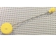 Part No: 41169c03  Name: Duplo Winch Drum Narrow with String and Yellow Over-the-Stud-Size Hexagonal Fitting