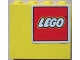 Part No: 4215pb038R  Name: Panel 1 x 4 x 3 with Lego Logo Pattern Upper Right (Sticker) - Set 4030
