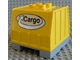 Part No: 42400  Name: Duplo, Train Freight Container with Bottom Rails with Cargo Logo Pattern (Intelli-Train)