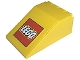 Part No: 4474pb001  Name: Windscreen 6 x 4 x 2 Canopy with LEGO Logo Pattern (Sticker)