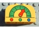 Part No: 4744pb02  Name: Brick, Modified 2 x 4 x 2 Double Curved Top with Gas Gauge Pattern