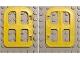 Part No: 4808  Name: Duplo Door / Window 1 x 3 x 2 1/2 with Four Panes