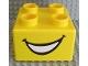 Part No: 48138pb02  Name: Quatro Brick 2 x 2 with Smile Pattern