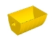 Part No: 51557  Name: Duplo, Train Tipper 2 x 4 with Curved Sides (Skip)