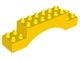 Part No: 51704  Name: Duplo, Brick 2 x 10 x 2 Arch