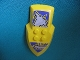 Part No: 51811pb01  Name: Nestle Promo Figure Danju Shield with Wolf Pattern (Stickers) - Set 4946