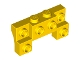 Part No: 52038  Name: Brick, Modified 2 x 4 - 1 x 4 with 2 Recessed Studs and Thick Side Arches
