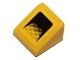 Part No: 54200pb071  Name: Slope 30 1 x 1 x 2/3 with Car Air Intake Pattern (Sticker) - Set 40193