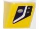 Part No: 54200pb076L  Name: Slope 30 1 x 1 x 2/3 with Chevrolet Corvette Lower Headlight Pattern Model Left Side (Sticker) - Set 75870