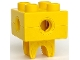 Part No: 74957c01  Name: Duplo, Toolo Brick 2 x 2 with Holes and Clip