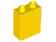 Part No: 76371  Name: Duplo, Brick 1 x 2 x 2 with Bottom Tube
