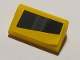 Part No: 85984pb278L  Name: Slope 30 1 x 2 x 2/3 with Black Headlight Pattern Model Left Side (Sticker) - Set 8169