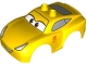 Part No: 88765pb05  Name: Duplo Car Body 2 Top Studs and Spoiler with Cars Cruz Ramirez Pattern