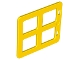 Part No: 90265  Name: Duplo Door / Window Pane with Four Same Size Panes Square Corners