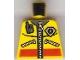 Lot ID: 236613804  Part No: 973pb0488  Name: Torso Coast Guard City Logo, Zippers and Radio Pattern