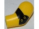 Part No: 981pb013  Name: Arm, Left with Black Elbow Pad Pattern