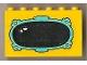 Part No: BA012pb03  Name: Stickered Assembly 6 x 1 x 3 with Fabuland Mirror Pattern (Sticker) - Sets 3636 / 3792 - 3 Brick 1 x 6