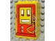 Part No: BA019pb01  Name: Stickered Assembly 3 x 2 x 4 with Fabuland Gas/Fuel Pump Large Pattern (Sticker) - Sets 344 / 134 - 4 Brick 2 x 3