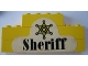Part No: BA025pb02  Name: Stickered Assembly 8 x 1 x 3 with Star and 'Sheriff' Pattern (Sticker) - Set 365 - 2 Brick 1 x 8, 1 Brick 1 x 4