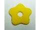 Part No: bb0643  Name: Foam, Scala Flower Small 3 x 3 with Hole, Type 1