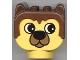 Part No: dupbarnaby1  Name: Duplo Animal Head Barnaby Bear