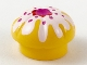 Part No: 3898pb01  Name: Muffin with Topping Pattern (Chef Toque)