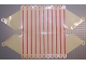 Part No: 71768  Name: Plastic Scala Roof with Stripes and Ice Cream Pattern