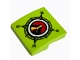 Part No: 15068pb084  Name: Slope, Curved 2 x 2 with Volcano Explorers Logo Compass Pattern