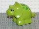 Part No: 31046pb02  Name: Duplo Dinosaur Triceratops Baby with Green Spots Pattern