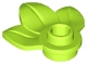 Part No: 32607  Name: Plant Plate, Round 1 x 1 with 3 Leaves