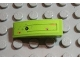 Part No: 50950pb020L  Name: Slope, Curved 3 x 1 No Studs with Rectangular Outline and Rusted Holes Pattern Model Left (Sticker) - Set 8958