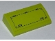 Part No: 61068pb010  Name: Slope, Curved 2 x 4 x 2/3 without Bottom Tubes with Hatch Pattern (Sticker) - Set 8708
