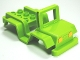 Part No: 98189pb03  Name: Duplo Car Body Jeep with Headlights Pattern