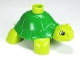 Part No: 98197pb01  Name: Duplo Turtle with Green Back Pattern