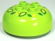 Part No: 98220pb05  Name: Duplo, Brick Round 4 x 4 Dome Top with 2 x 2 Studs and Green and Yellow Flower Pattern